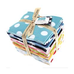 Riley Blake Flannel Basics Dots Fat Quarter Assortment