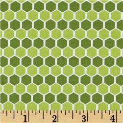 Kinetic Honeycomb Green
