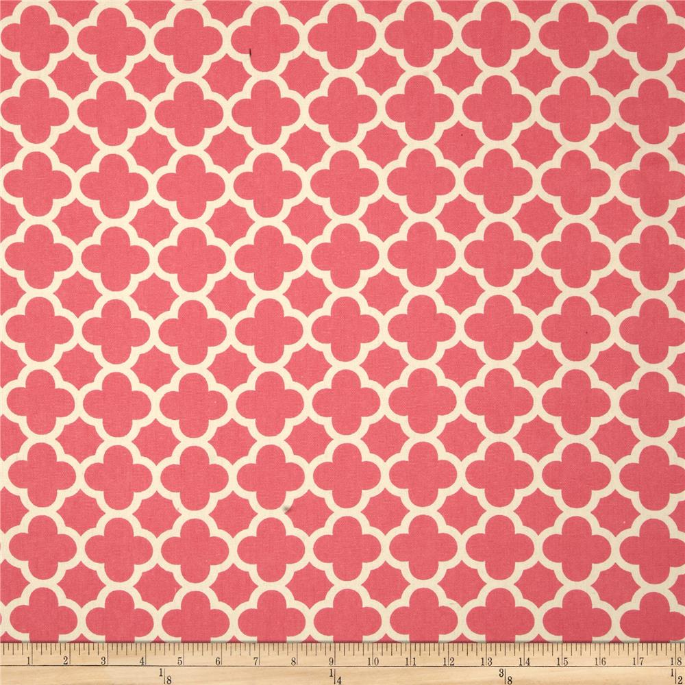 Superieur Riley Blake Home Decor Quatrefoil Hot Pink   Discount Designer Fabric    Fabric.com