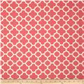 Riley Blake Home Decor Quatrefoil Hot Pink