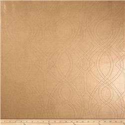 Richloom Faux Leather Graham Latte
