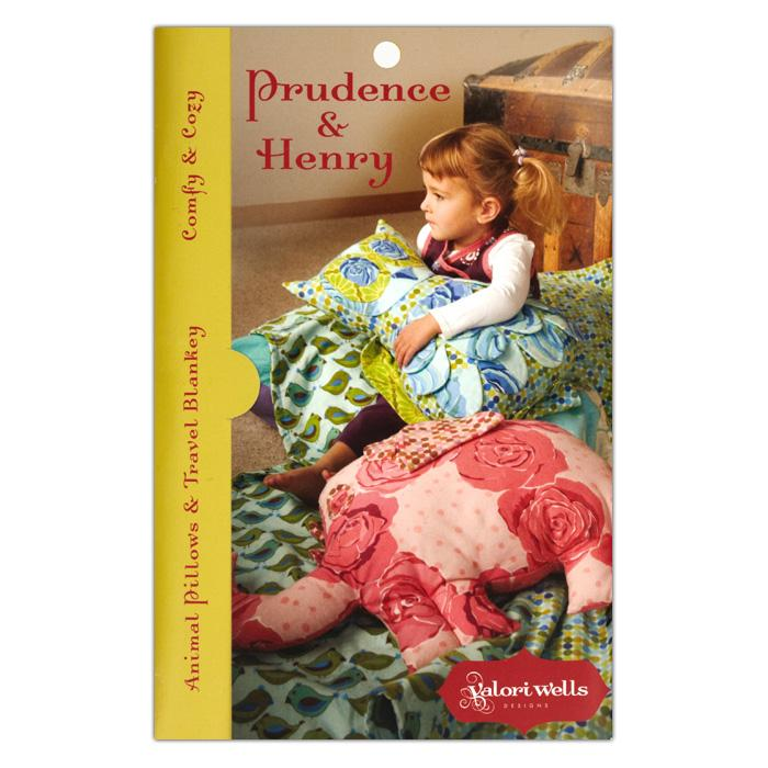 Valori Wells Prudence & Henry Animal Pillows & Blankey Pattern
