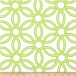 Michael Miller Bekko Home Decor Swirl Lime