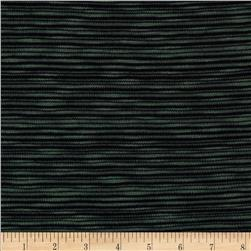 Designer Variegated Hatchi Knit Green/Black