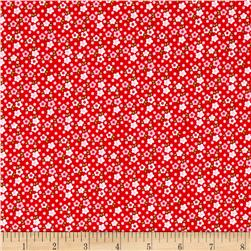 Riley Blake Fresh Market Small Floral Red