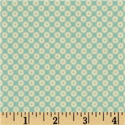 Riley Blake Sidewalks Starburst Teal