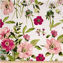 Stof France Claudine European 100% Linen Rose