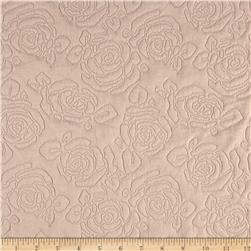 Double Knit Matelasse Rose Beige