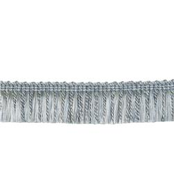 "Jaclyn Smith 1.5"" 02925 Brush Fringe Chambray"