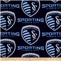 MLS Fleece Sporting Kansas City Blue