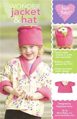 Sew Baby Wonder Jacket & Hat Pattern