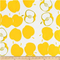 Oil Cloth Solvang Yellow Fabric