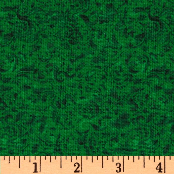 118'' Wide Focus Quilt Backing Shamrock