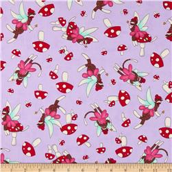 Moda Monkey Tales Fairy Cute Lavender