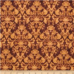 Autumn Festival Damask Brown
