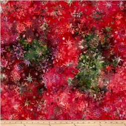 Timeless Treasures Tonga Batik Passion Fruit Watermark Ruby