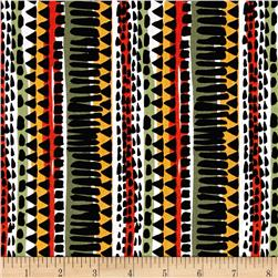 Kanvas Jungle Jive Stripe Bright