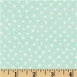 Confetti Dot Mint Fabric