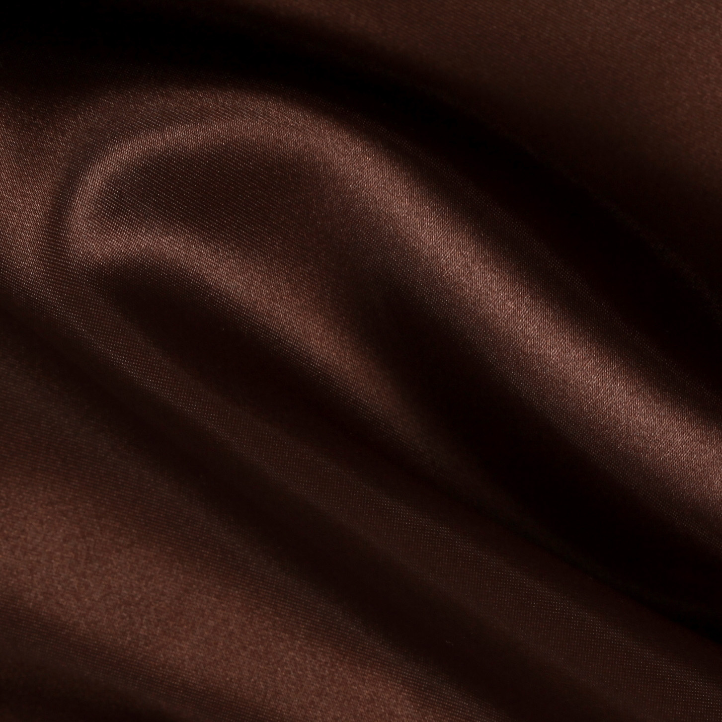 Sweetheart Satin Brown Fabric