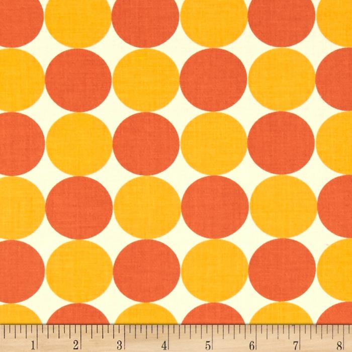 Moda Neco Big Dots Coral