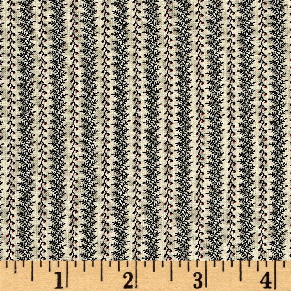 American Gothic Stitch Border Vines Multi