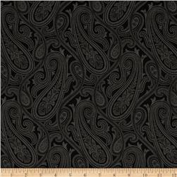 Quartette Collection Paisley Large Black