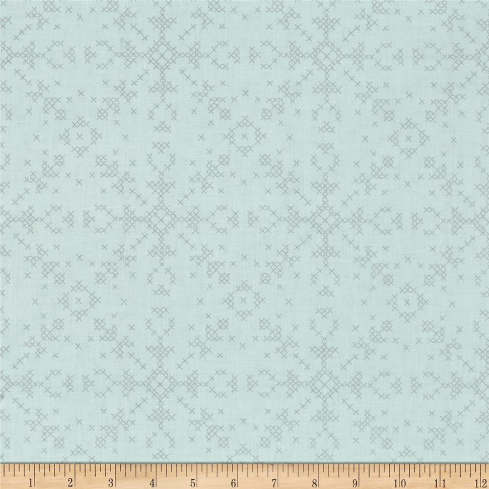 Dear Stella Dala Cross Stitch Flakes Glacier