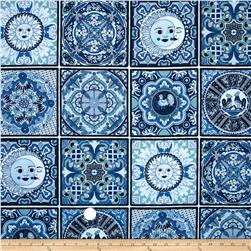 Fiesta Block Tiles Blue