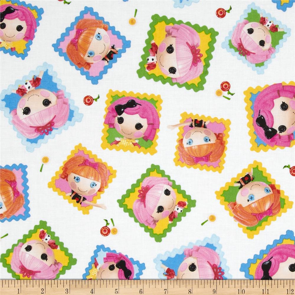 Lalaloopsy Cute As A Button Tossed Dolls Blocks