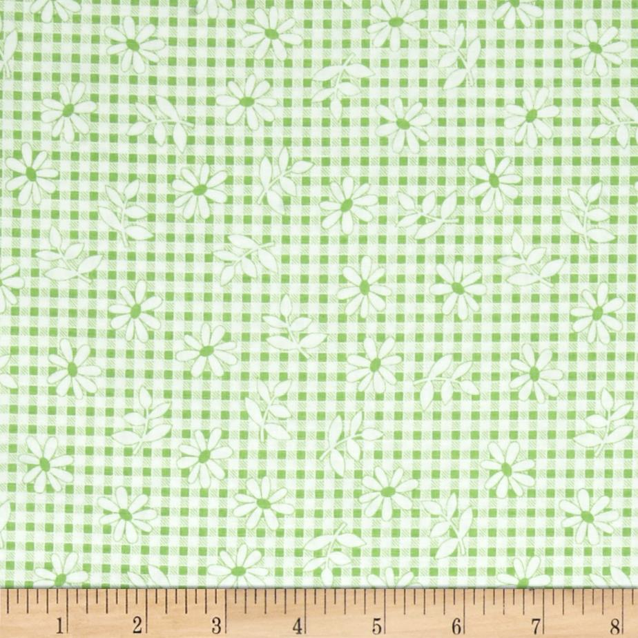 Penny Rose Chatterbox Aprons Gingham Green
