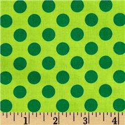 Michael Miller Ta Dot Grass Fabric
