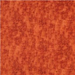 Timeless Treasures Harvest Linen Texture Pumpkin
