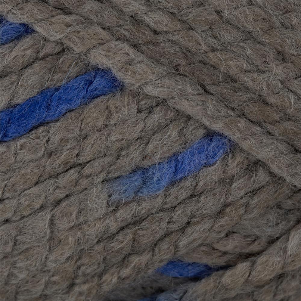 Lion Brand Wool Ease Thick & Quick Prints Yarn Bluebird
