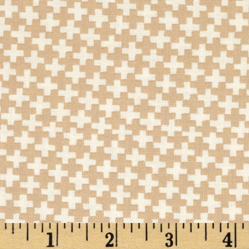 Moda Farmhouse Criss Cross Pebble
