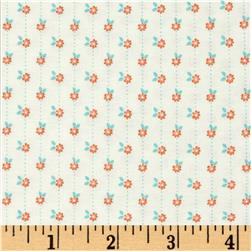 Moda Sweet Marion Daisy Chain Citrus/Cloud