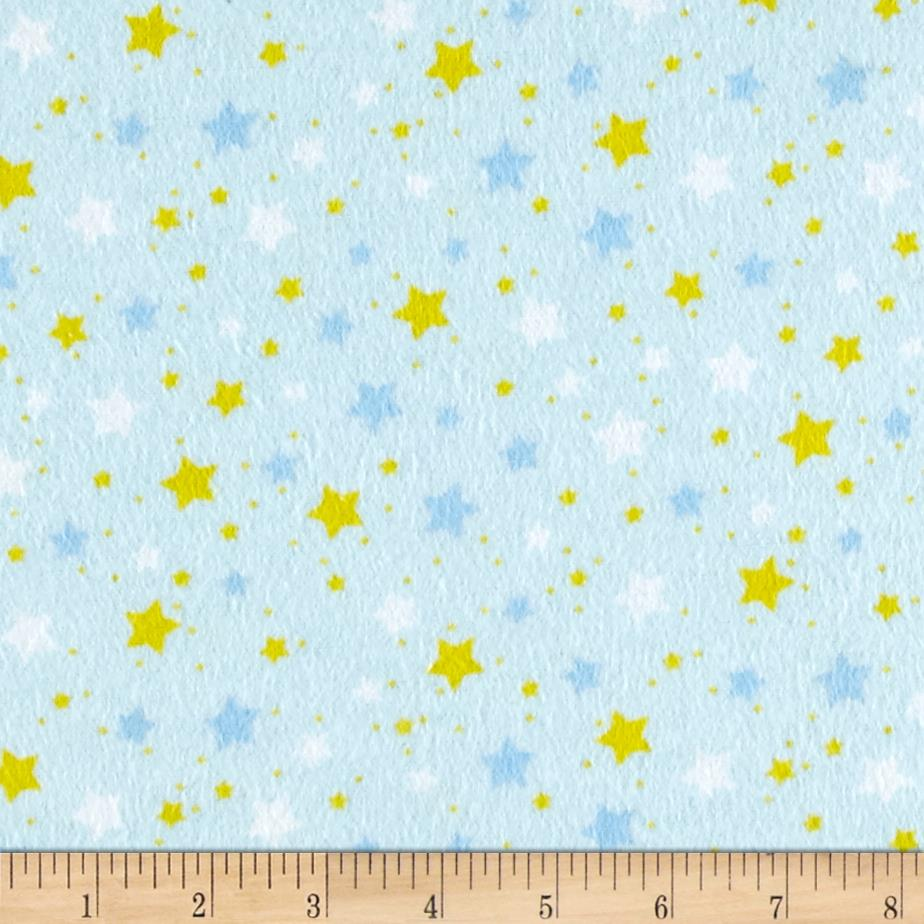 Flannel Starlight Blue