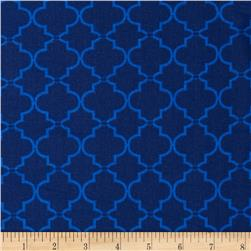 Lattice Tonal Blue