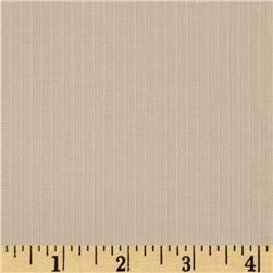 Stretch Dobby Stribe Sateen Suiting Light Tan