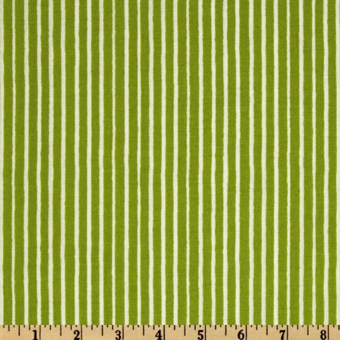 Santa's Whimsy Stripe Lime