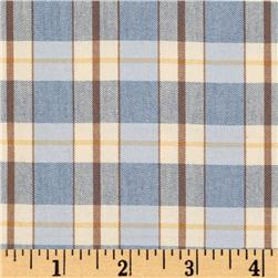 Roth St. Germain Plaid Blue/Yellow