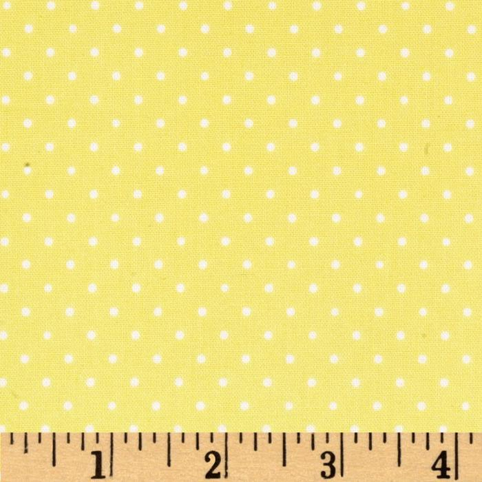 Brights & Basics Pindot Light Yellow