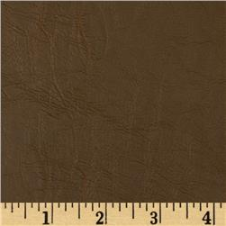 Richloom Faux Leather Crickled Tobacco Fabric