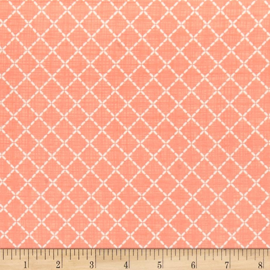Moda Lullaby Quilted Peach