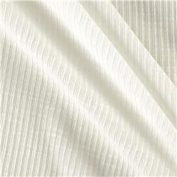 Lightweight Rib 2x1 Knit Solid White