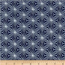 Indigo Summer Graphic Geo Navy