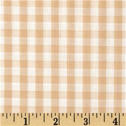Gingham 1/4'' Checks Galore Beige