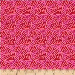 Intrigue Maze Hot Pink
