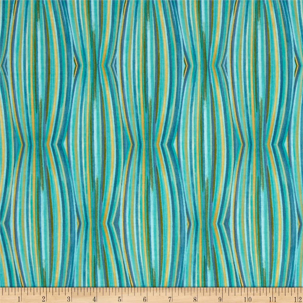 Luminaria Stripe Blue/Green