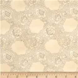 Jeanne Horton The Settlement Collection Antique Floral Grey