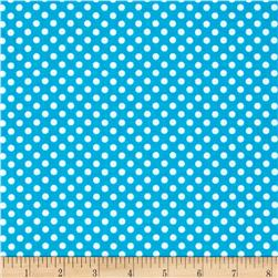 Spot On II Mini Dots Turquoise/White